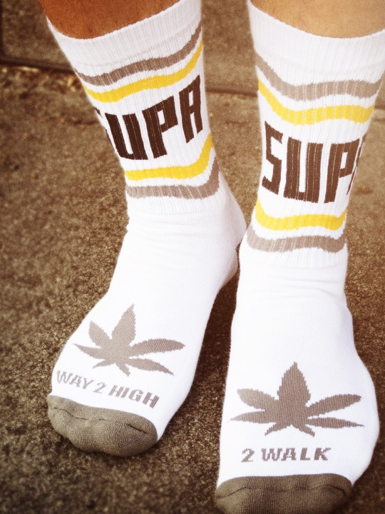 Supa High Collab Socks