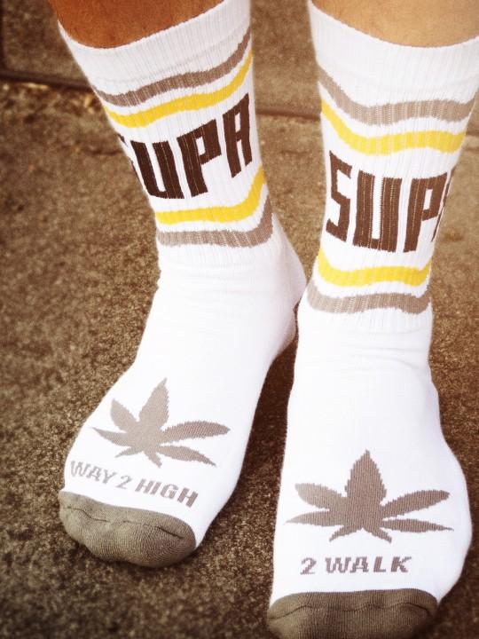 Supa High Collab Socks